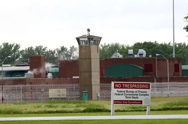 Vista del Complejo Correccional Federal de Terre Haute, donde el 'Talibán Americano' John Walker Lindh cumplió 17 años de cárcel.