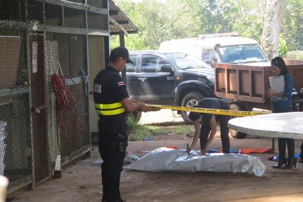 El trabajador falleció a causa del fuerte golpe. | CARLOS HERNÁNDEZ.