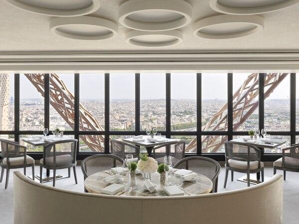 Restaurante Jules Vernes, torre Eiffel París