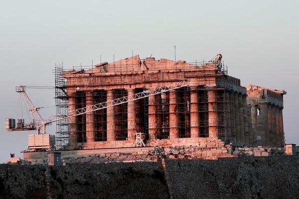 La mayor parte de la restauración del Partenón, en Atenas finalizó en 2015, pero todavía hacen falta detalles.