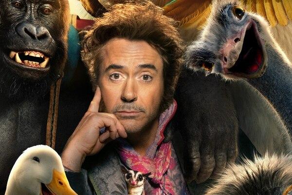 Robert Downey Jr. como el doctor Dolittle no convence al crítico de La Nación. Foto: Cortesía de ROMALY