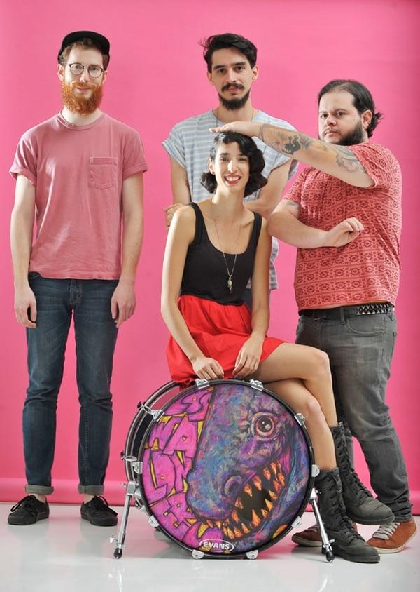 Durante el último mes, Los Waldners ha celebrado el lanzamiento de su primer disco, 'Eclipse total del corazón'. Fotografía: Mariandrea García.