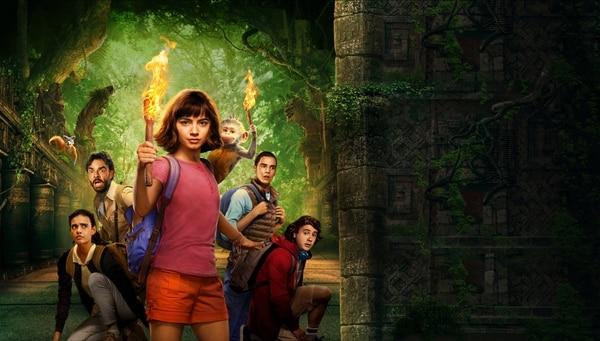 La simpatía que genera la jovencita actriz Isabela Moner es el punto más alto de la película. Ella resguarda muy bien la historia narrada.