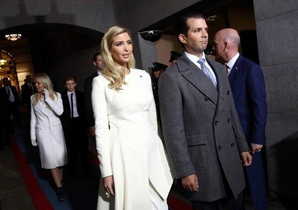Ivanka Trump optó por un Oscar de la Renta.