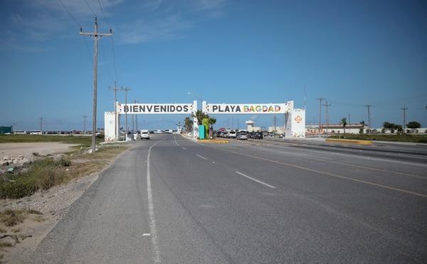 Playa Bagdad, en la boca del río Bravo, en el extremo este de la frontera entre México y Estados Unidos.