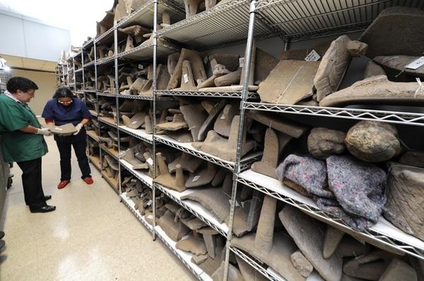 La colección Dada Fumero que fue devuelta al Museo Nacional comprende 3.217 piezas precolombinas de varias épocas y regiones del país.   JORGE CASTILLO