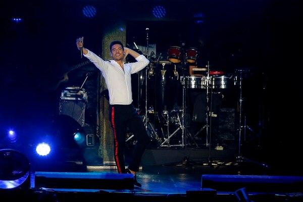 El año pasado Carlos Rivera sorprendió con un llenazo en el Palacio de los Deportes en Heredia, como parte de su tour