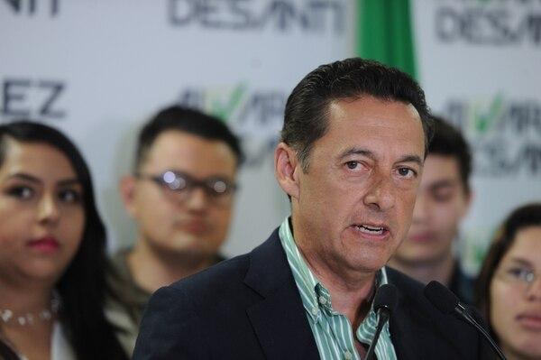 El candidato presidencial del PLN, Antonio Álvarez, dijo que el INA será una entidad central en su objetivo de crear 150.000 nuevos empleos, en caso de ganar la Presidencia el próximo 4 de febrero. Fotos Melissa Fernández