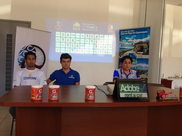 Bryan Alfaro, Pablo Herrera y Cristina González dieron a conocer los detalles de la Copa Panamericana 2015.