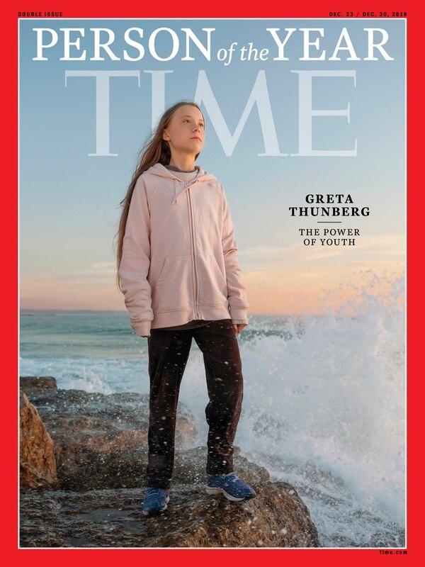 Greta Thunberg llegó por primera vez a los titulares por su campaña en solitario contra el calentamiento global. Sus huelgas fueron posteriormente emuladas en el resto del mundo. Foto: AFP