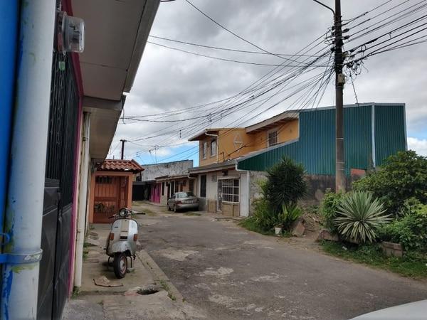 La familia Campos Barrrantes vive en barrio Barro de Olla en La Isla de Moravia, San José.