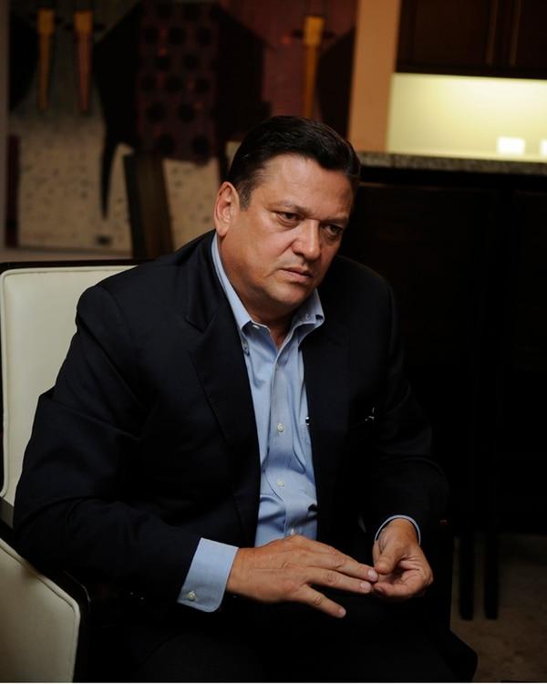Johnny Araya, candidato presidencial del Partido Liberación Nacional, está fuera del país con su esposa, Sandra León. | GESLINE ARANGO / ARCHIVO