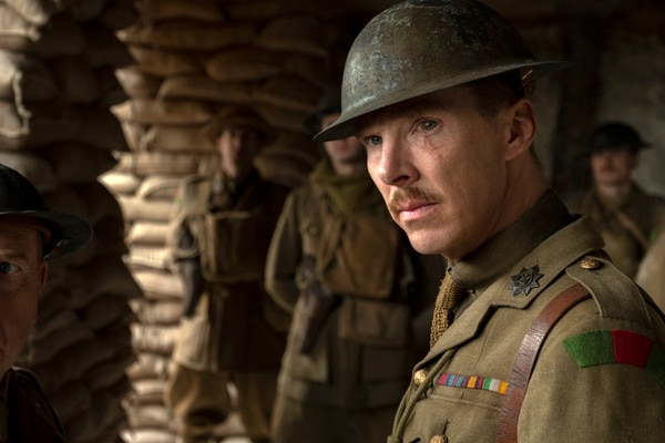 Benedict Cumberbatch es parte del nutrido elenco de '1917'. Foto: AP