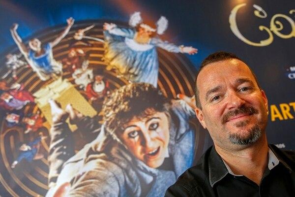 Patrick Flynn explicó que este espectáculo del Circo del Sol tiene muchos elementos coreográficos.