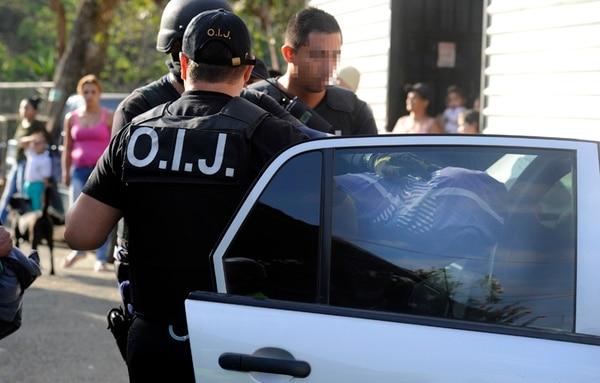 OIJ hizo un megaoperativo con 27 allanamientos. | ALONSO TENORIO.