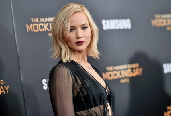 Por segundo año consecutivo, Jennifer Lawrence encabeza la lista de Forbes de las actrices mejores pagadas.