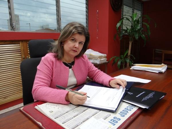 Ana Eugenia Romero, directora del Poder Judicial. | ARCHIVO