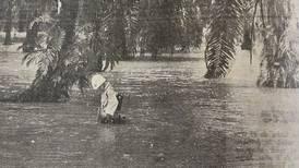 Hoy hace 50 años: Huracán Irene golpeó fuerte al país