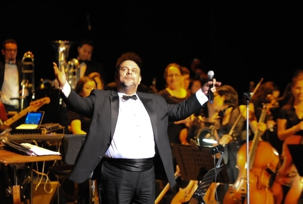 Marvin Araya auguró mucha pasión para este concierto. ArchivoEmocionado.