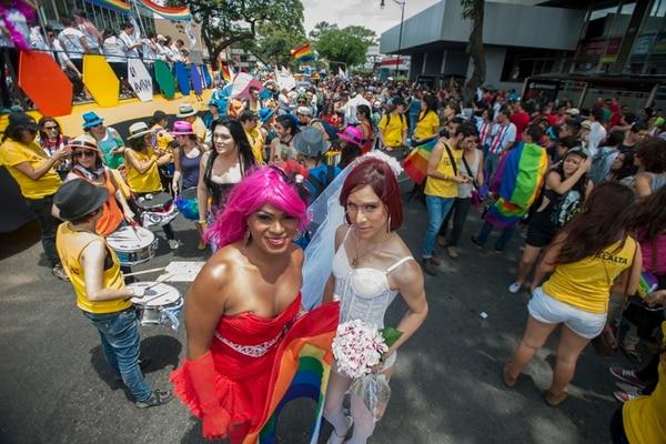 La marcha del orgullo gay se ha convertido en un símbolo de la lucha de algunos grupos contra la discriminación en el país.   FABIÁN HERNÁNDEZ