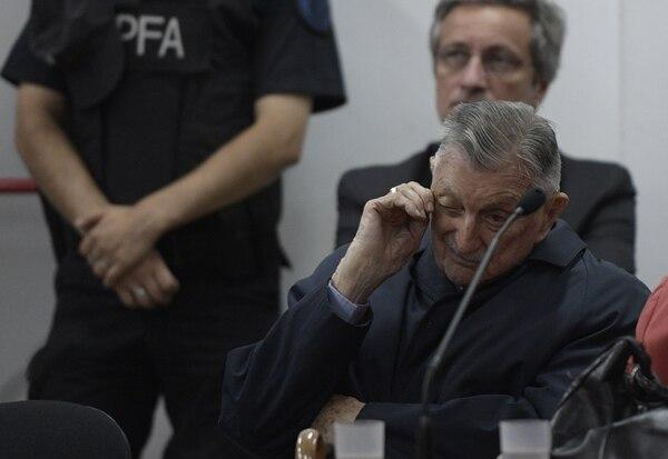 Héctor Francisco Jesús Sibilla, exejecutivo de Ford en Argentina, aguardaba el veredicto del juicio que enfrentó por complicidad en la guerra sucia de la dictadura militar.