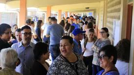 Gran afluencia de votantes marca la jornada electoral