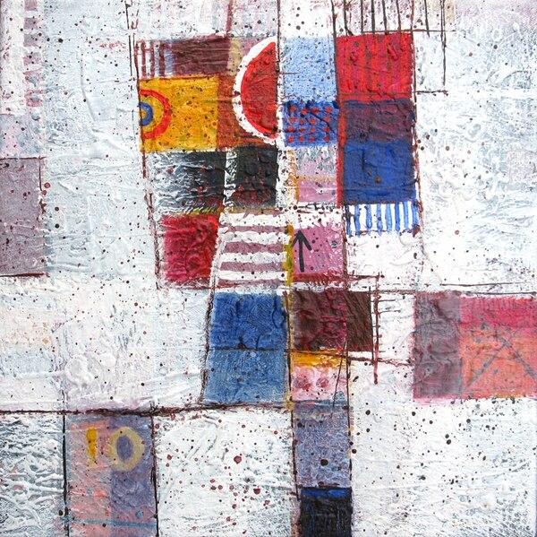 Palabra e imagen es la vigésima exposición individual del artista Rolando Garita. Se exhibe en el Museo de Arte Costarricense y reúne 38 acrílicos sobre lienzo en los que el artista vuelve a su infancia. | MAC PARA LN