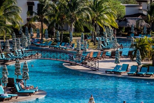 El hotel JW Marriott, ubicado en Hacienda Pinilla, Santa Cruz, Guanacaste es la sede de la maratón del 27 de julio. Fotografía: Alejandro Gamboa Madrigal