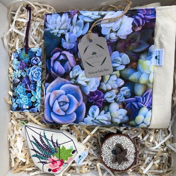 Todos los diseños son originales de Karla Álvarez.