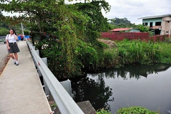 La empresa también realizaba trabajos en el río Limoncito. Fotografía: John Durán