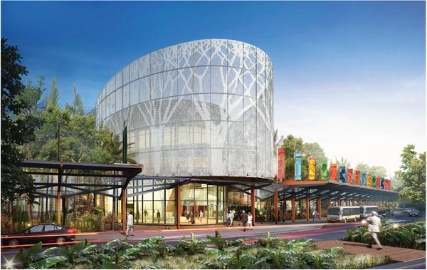 El centro de eventos estaría listo para operar en el 2018. | CORTESÍA ICT