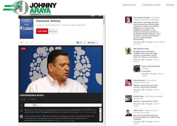 El candidato presidencial del PLN, Johnny Araya, afirmó que eliminaría los exámenes de bachillerato para aquellos estudiantes que no pretenden ingresar a la universidad, con el fin de facilitarles su ingreso al mercado laboral o a carreras técnicas.