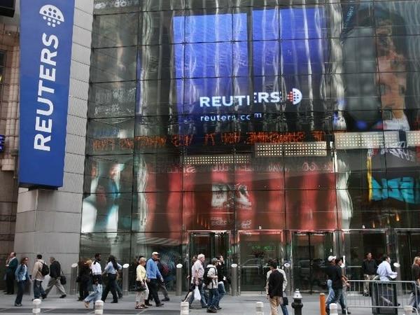 La sede principal de Reuters está en Nueva York, Estados Unidos. | ARCHIVO.