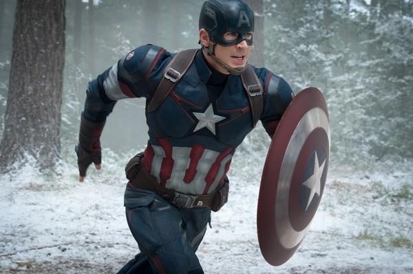 Chris Evans interpreta al Capitán América