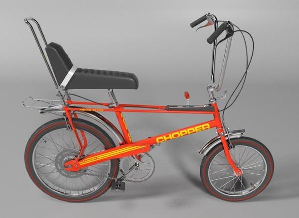 Las bicicletas modelo chopper serán parte de la exposición. Foto: cortesía Gran Retro Cycle.