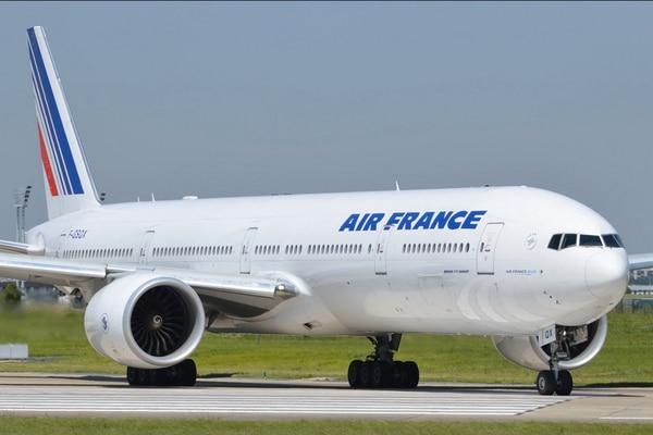 Este es un avión 777-300, similar al que Air France utilizará para volar dos veces por semana a Costa Rica.