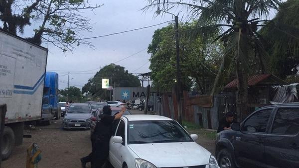 Varios de los allanamientos se efectuaron en Cieneguita, donde hubo seis detenidos. Foto de Rodolfo Martín