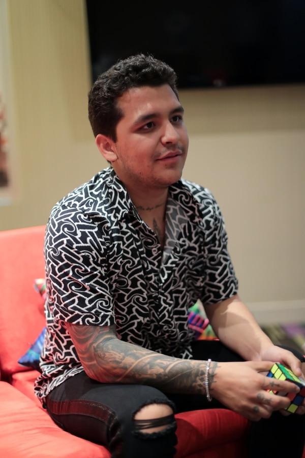 Esta es la primera visita de Nodal a Costa Rica. El cantante afirmó que espera volver pronto a vacacionar. fotografía: Alonso Tenorio