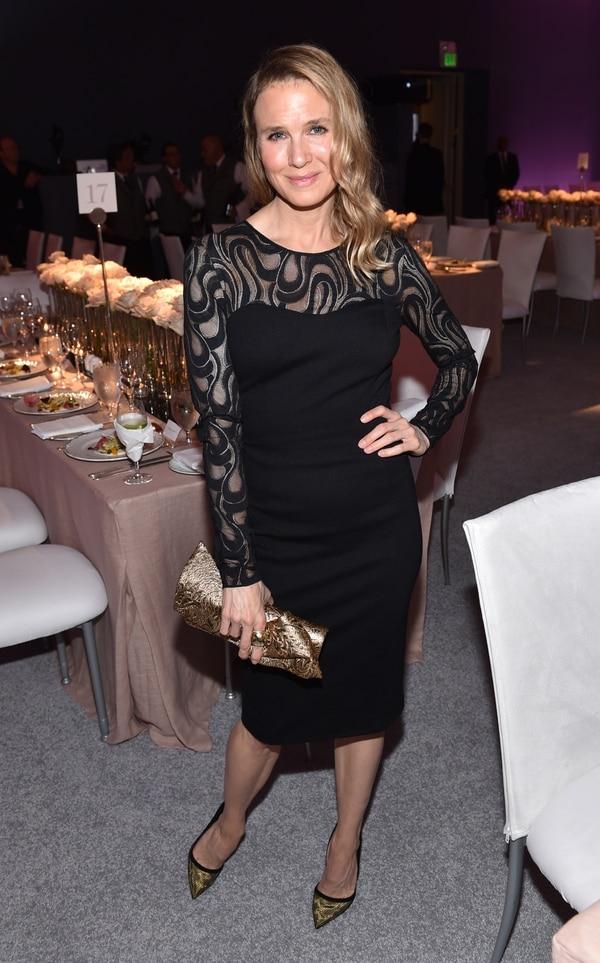 Renee Zellweger sorprendió por cambios en su rostro en la gala de Elle Women in Hollywood celebrada este lunes.