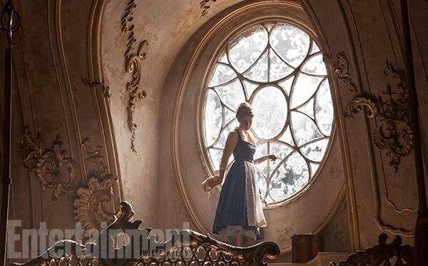 Emma Watson en una escena de 'La Bella y la Bestia'. Tomada del sitio web de Entertainment Weekly.