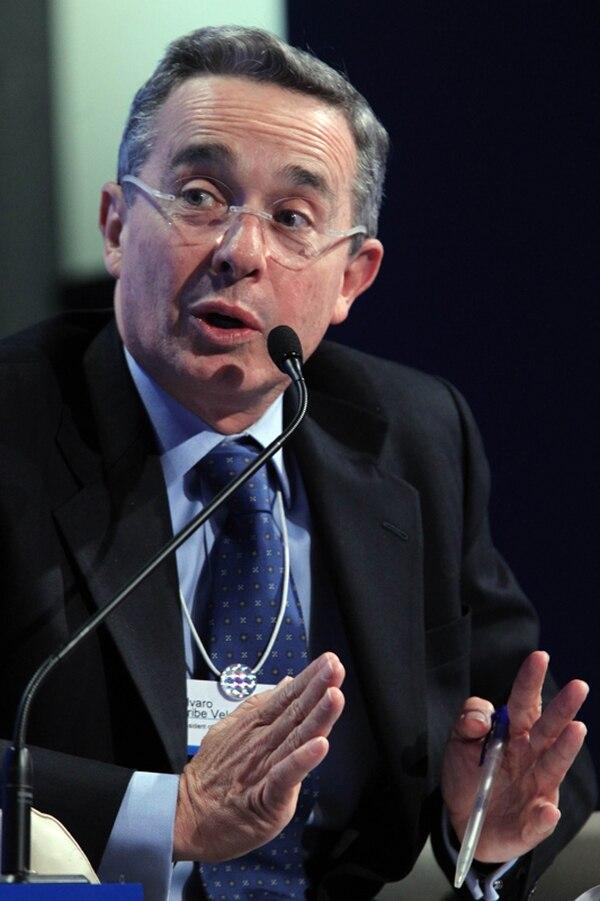 El expresidente Uribe es candidato del Partido Centro Democrático. | AFP