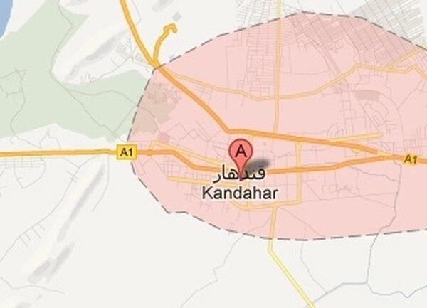 Uno de los ataques se presentó en el convulsionado distrito de Kandahar | GOOGLE MAPS.