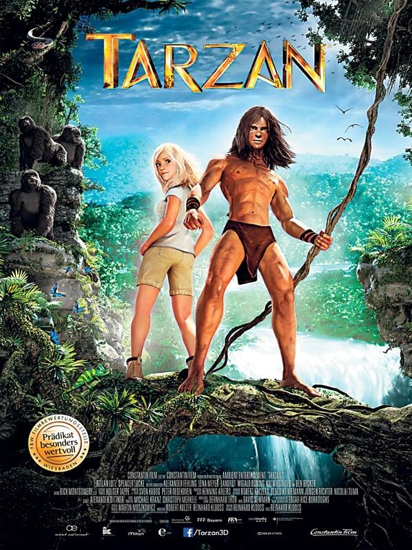 Gracias a la capture motion (captura de movimiento), la actriz Spencer Locke da vida a Jane en Tarzán 3D , mientras que Kellan Lutz al protagonista.romaly/LN