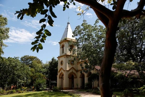 Templo católico de la localidad de Limpio, Paraguay.