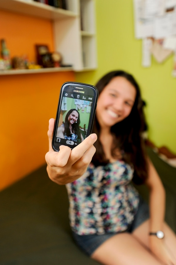La palabra en inglés 'selfie' Diccionario Oxford en agosto pasado.   FOTO: LUIS NAVARRO
