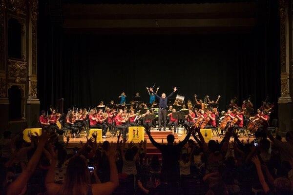 La Orquesta Sinfónica de la UCR está cumpliendo diez años. Foto: Cortesía Alejandro Gutiérrez