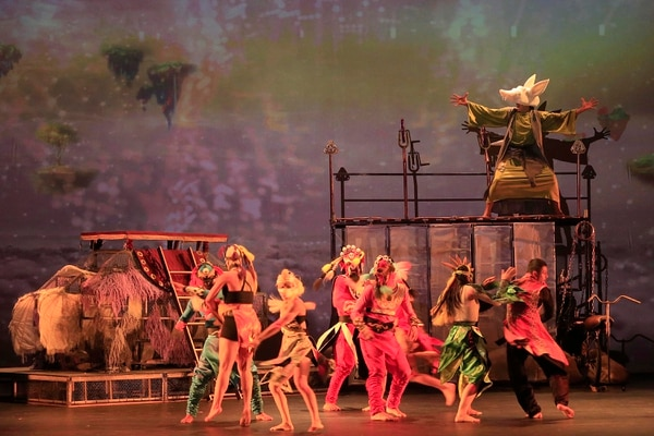 'Las 1001 noches' fue una celebración de las culturas orientales. Foto: Rafael Pacheco