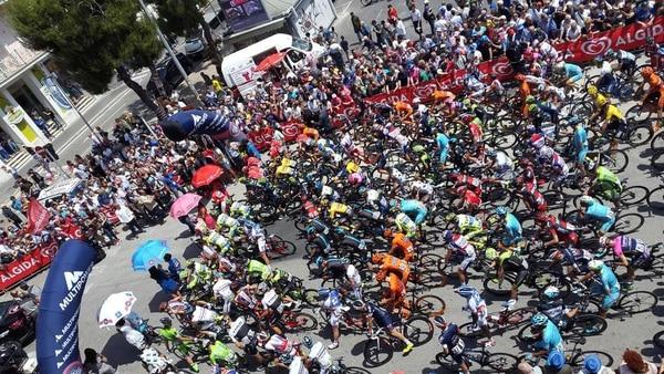 Así fue la salida en la décima etapa del Giro de Italia.