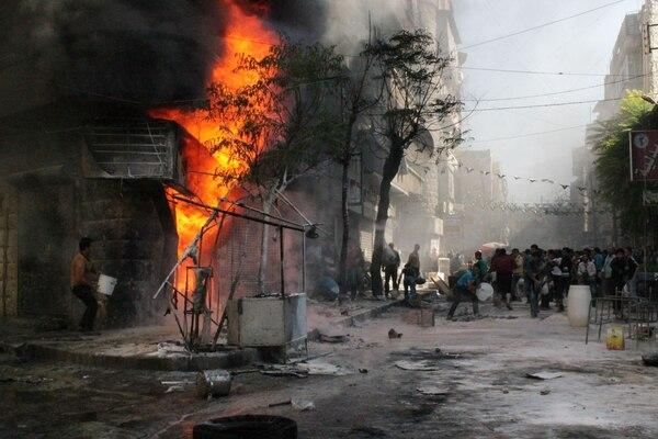 Las disputas en Siria estallaron como parte de una revuelta popular en marzo de 2011.