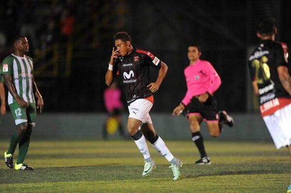 José Guillermo Ortiz no marcaba un gol desde que le marcó a Saprissa en la semifinal del Verano 2016.